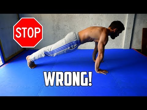 STOP DOING PUSHUPS LIKE THIS | 5 Biggest Pushup Mistakes