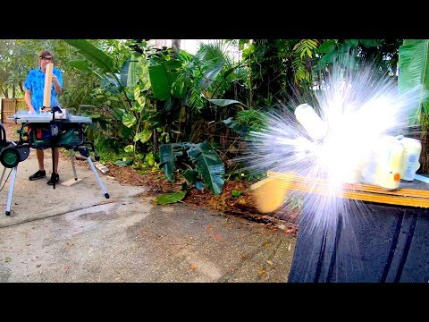Fully-Automatic Table Saw Cannon