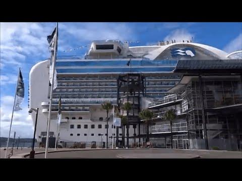 Day 1 -  Boarding the Emerald Princess Cruise Ship