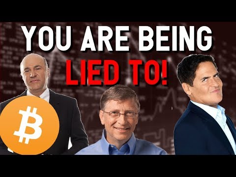 You are being LIED TO about BITCOIN 🚨DON'T BE FOOLED! Cuban Gates O'Leary conspire against crypto