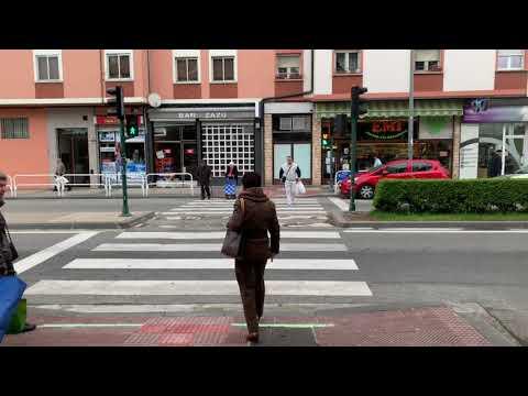 Stopled instala el primer semáforo horizontal en Navarra