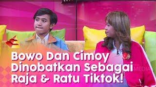 RUMPI - Bowo Dan Cimoy Dinobatkan Sebagai Raja & Ratu Tiktok Indonesia! (31/1/20) PART1