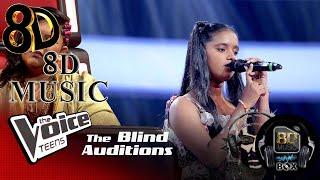 Kavindya Lakmuthu  Ahan Inna (අහන ඉනන)  Blind Auditions  The Voice Teens Sri Lanka