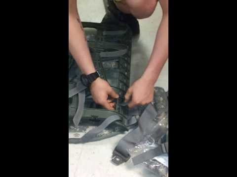 How To Assemble An Army Rucksack