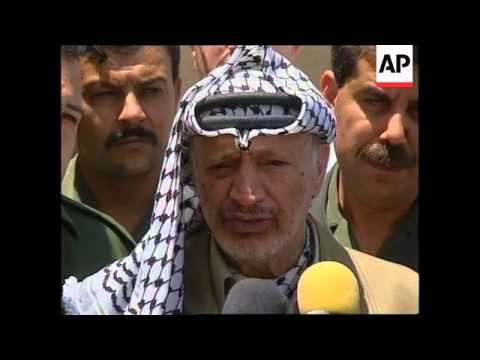 WEST BANK: YASSER ARAFAT AGREES TO RENEW TALKS WITH ISRAEL