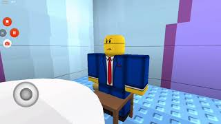 Watching steamed ham's in roblox
