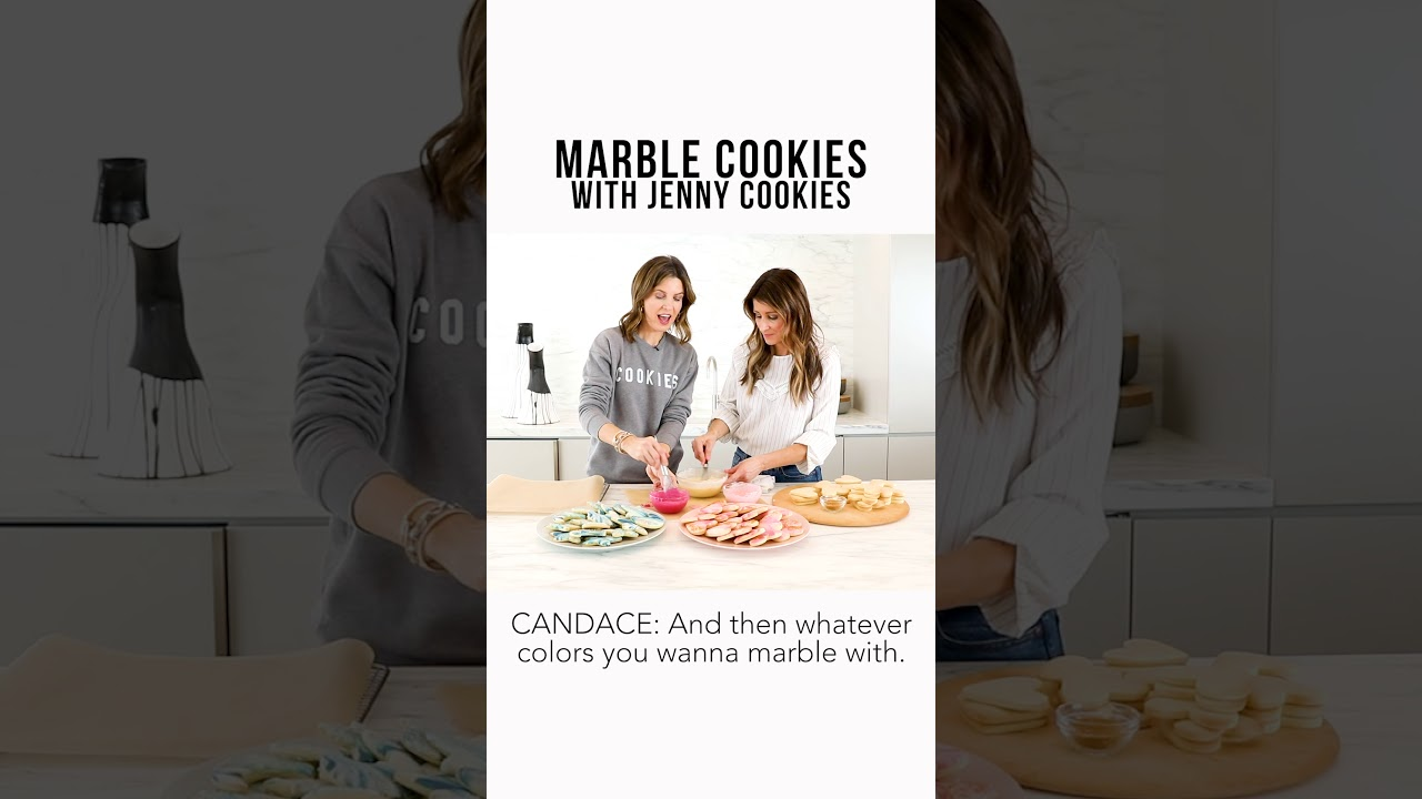 Marble Cookies with Jenny Cookies