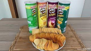 EVDE PRİNGLES CİPSİ TARİFİ!!!   Pringles Recipe (with English Subtitle)
