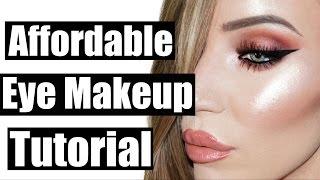 Affordable Makeup Brushes + Eye Makeup Tutorial | STEPHANIE LANGE