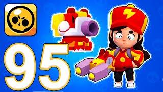 Brawl Stars - Gameplay Walkthrough Part 95 - Red Dragon Jessie (iOS, Android)