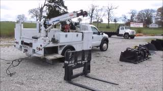 2007 Ford F550 Super Duty Service Truck For Sale | Sold At Auction December 3, 2014