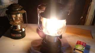 How to: Lite a coleman kerosene lantern