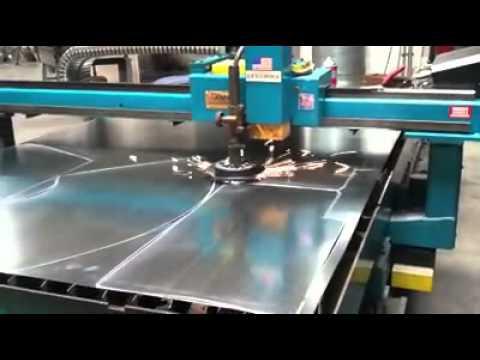 Duct Fabrication Plasma Table