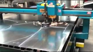 Duct Fabrication Plasma Table