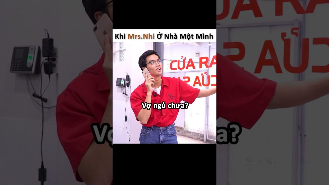 #shorts Khi Mrs Nhi Ở Nhà Một Mình