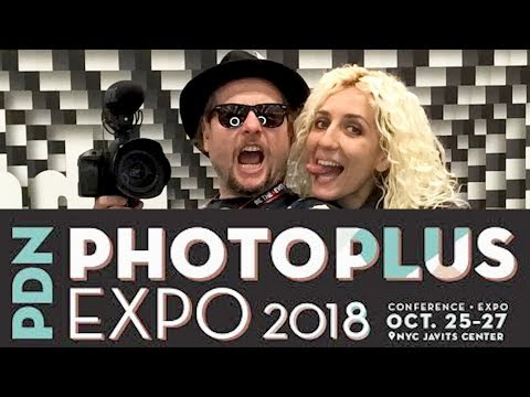 PDN Photo Plus Expo 2018 NYC Vlog