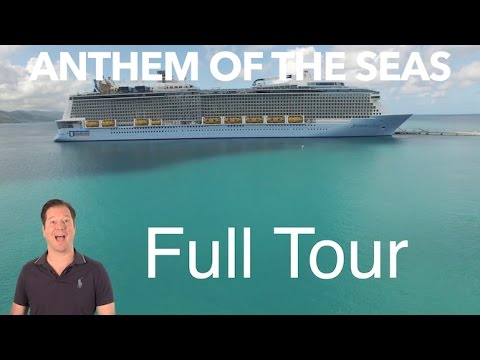 Anthem of the Seas Review - Full Walkthrough - Ship Tour - Royal Caribbean
