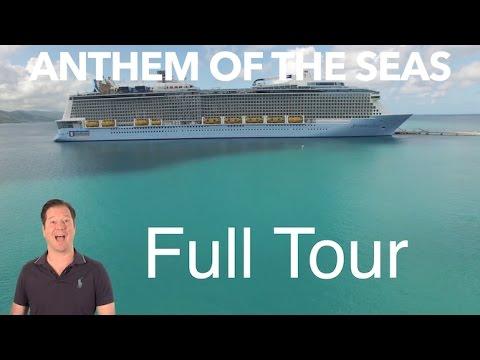 Anthem of the Seas   Full Walkthrough Ship Tour   Royal Caribbean
