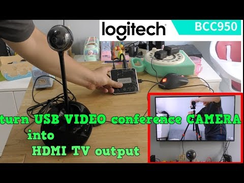 Turn USB Video Conference Camera To TV Display