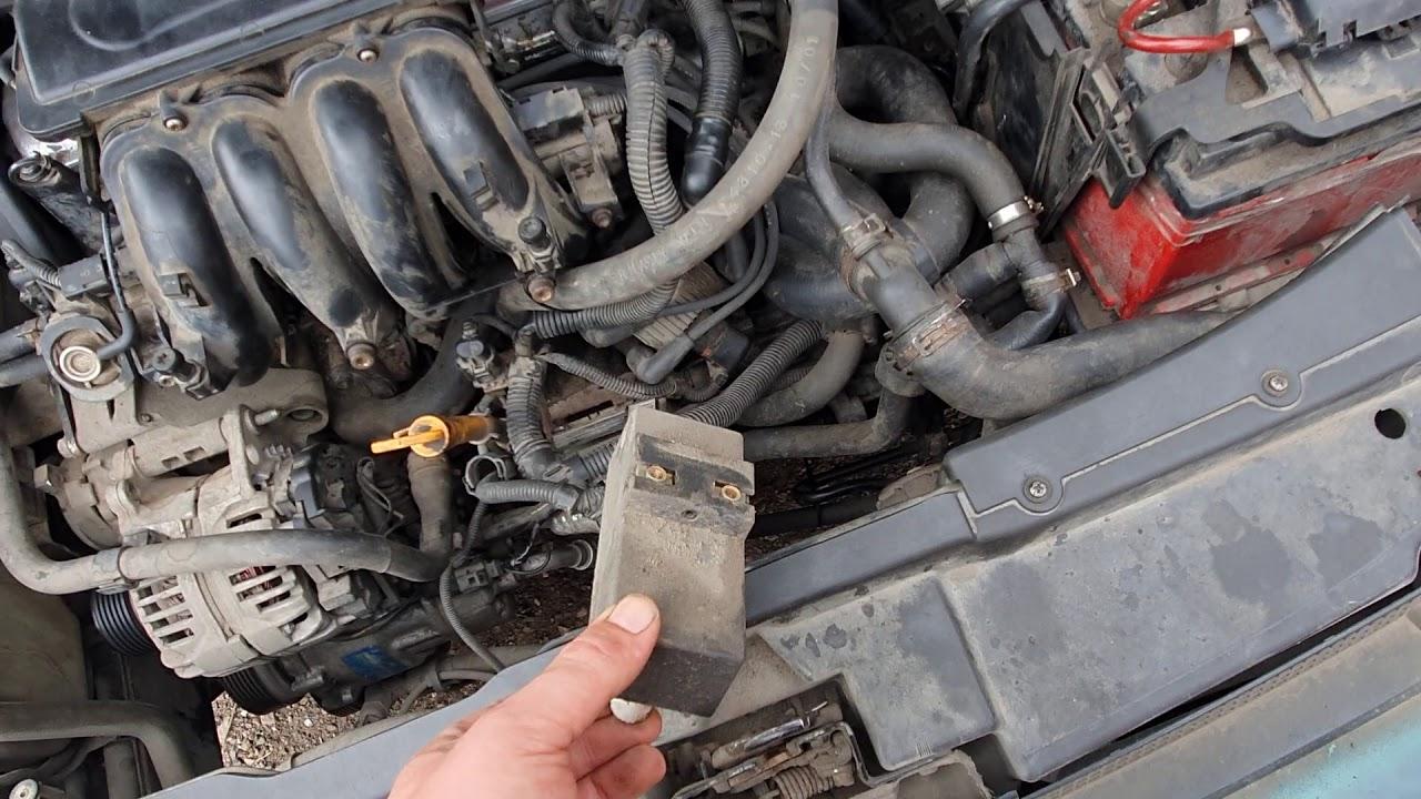 Кондиционер Заправлен . Но Муфта Компрессора И Вентилятор Не Включается -Volkswagen Bora РЕШЕНО