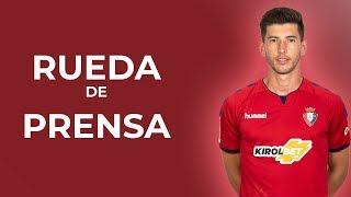 """David García: """"Estamos con ganas de que llegue el partido para dar lo mejor de nosotros"""""""