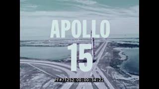 APOLLO 15 FLIGHT TO HADLEY-APENNINE LUNAR ROVER HISTORIC NASA FILM 71252