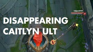 Zapętlaj Disappearing Caitlyn Ult | Vandiril