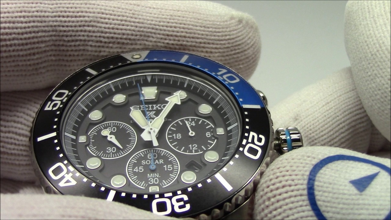 How to reset (recalibrate) the hands on a chronograph watch.