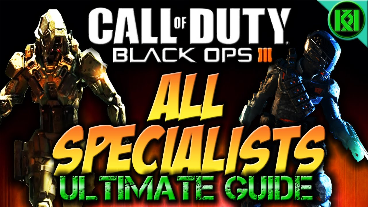 Cod Black Ops 3 All Specialists And Characters Weapons And Abilities Gameplay Bo3 Ultimate Guide