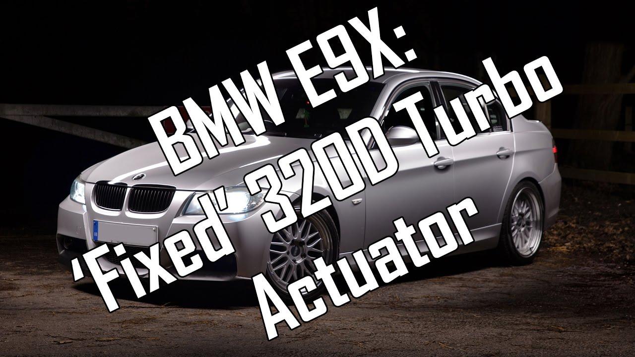 bmw e9x 39 fixed 39 320d turbo actuator youtube. Black Bedroom Furniture Sets. Home Design Ideas