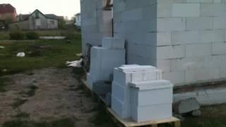 Моя стройка,домик 6х6 из газобетона.(Мой второй канал,жду Вас там:https://www.youtube.com/channel/UCmYNpXLBkVNIV_apqG1moMg Ознакомительное видео о строительстве своими..., 2014-05-12T16:59:51.000Z)