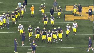 Jj Mcgrath (university Of Michigan Rs Freshman Kicker Transfer)