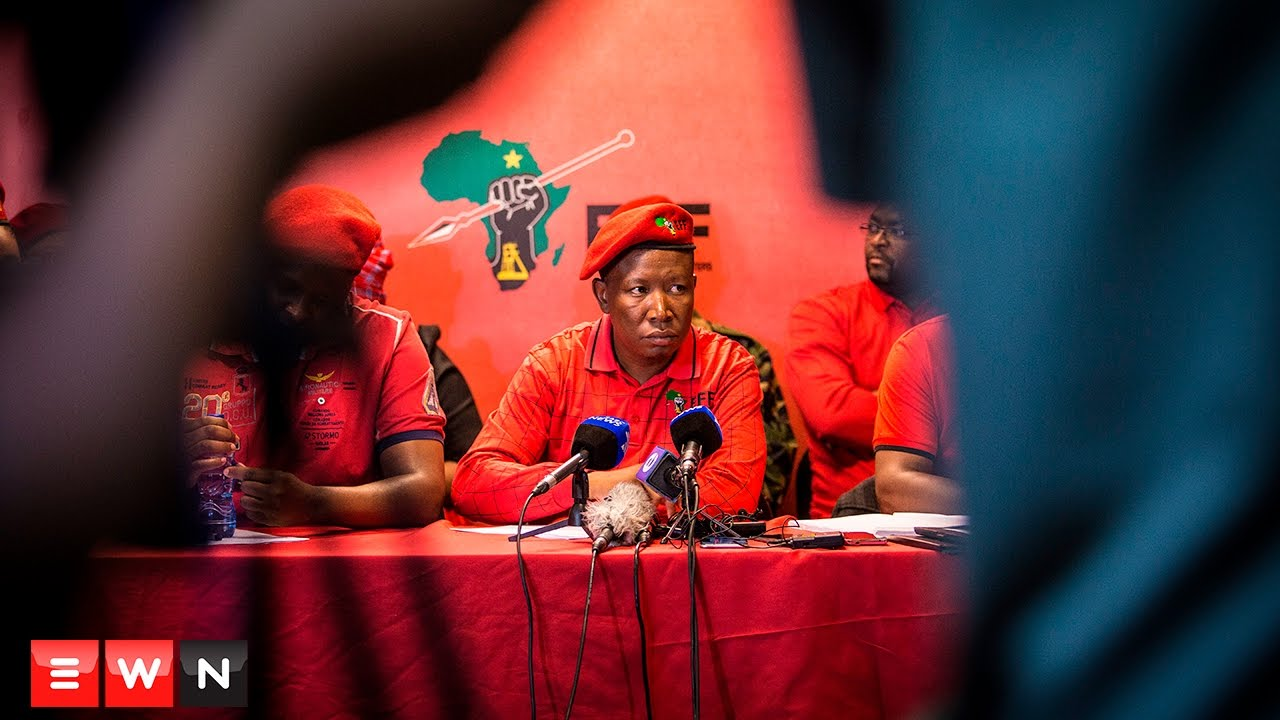 Malema slams Gordhan charges: 'You're a joke, Shaun Abrahams'