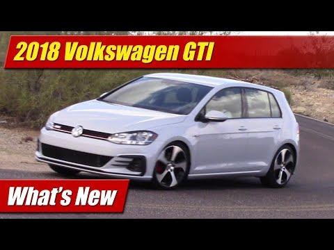 2018 Volkswagen Golf GTI: What's New
