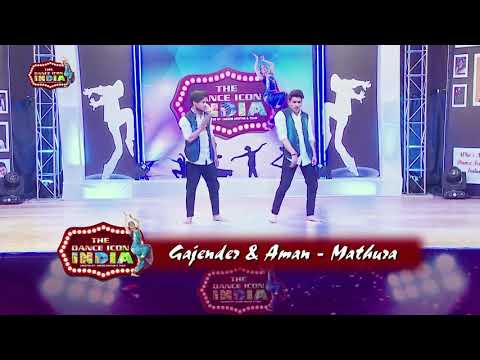 The Dance Icon India Reality Show dance performance By Gajendra & Aman