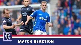 REACTION | Andy Halliday | Rangers 4-0 Dundee