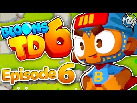 Bloons TD 6 Gameplay Walkthrough - Episode 6 - Super Monkey