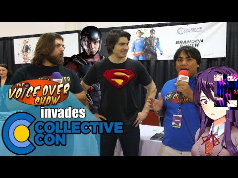 The Voice Over  Storms CollectiveCon! Ft. Brandon Routh, Courtney Ford, and Chelsea Talmadge