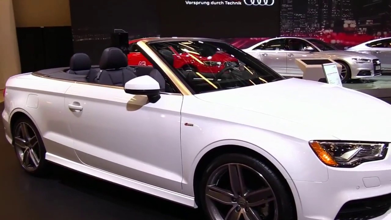 2018 audi a3 cabriolet 2 0 quattro design limited special first impression lookaround review. Black Bedroom Furniture Sets. Home Design Ideas