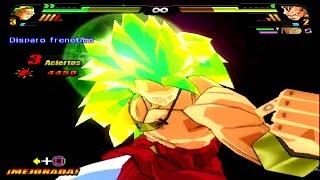 dragon ball z budokai tenkaichi 3 version latino broly ssj3 vs super saiyajins 3 mod