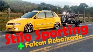 """Stilo Sporting + Aro 20"""" + Falcon Rebaixada  - Ulysses de Volta Redonda RJ - Modificarros"""