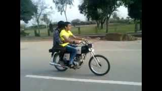 Bike wheeling in Narowal by Golden   YouTube