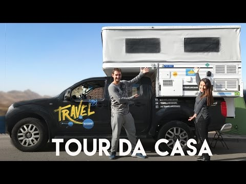 TOUR DO MOTORHOME | TOUR PELA Nossa CASA | Travel and Share | Romulo e Mirella