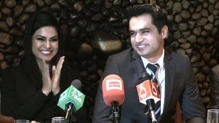 veena malik s husband sings a romantic song for her