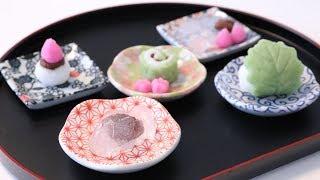Wagashi Making DIY Candy Kit