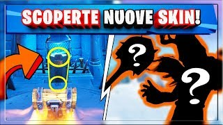 NEW SKIN FORTNITE! WEIRD SYMBOLS IN THE ICE CASTLE!