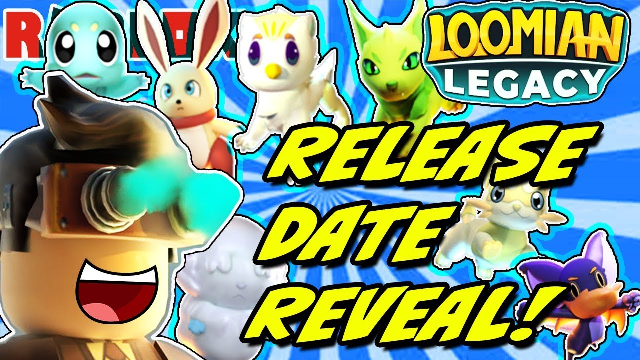Loomian Legacy Official Release Date Announcement Roblox Youtube