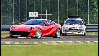 Ferrari 812 Superfast vs Lancia Delta S4 - Monza