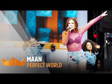 MAAN - Perfect World | Live op 538Koningsdag 2017