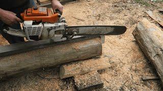 Aserradero ultra portatil para motosierra - Ultra portable chainsaw mill
